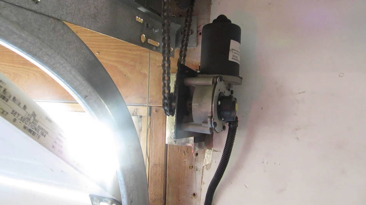 Side Mount Garage Door Opener