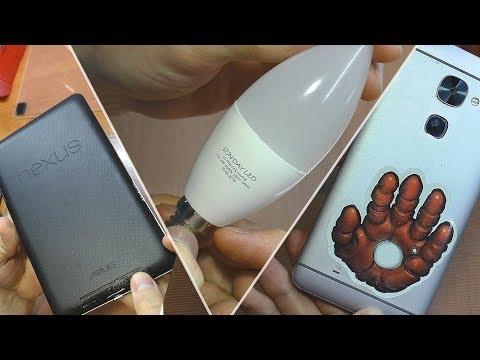 3 ПРОСТЫХ РЕМОНТА: Смартфон LeEco Le 2, планшет Nexus 7 и светодиодная лампа