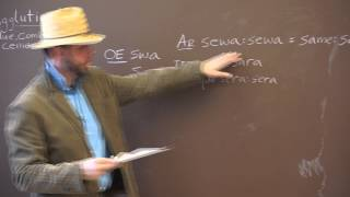Jerrold M Foke Shows How Conjunctions Evolved From Schwa Sound