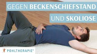 Übung gegen Beckenschiefstand und Skoliose: Die Seitenverlängerung