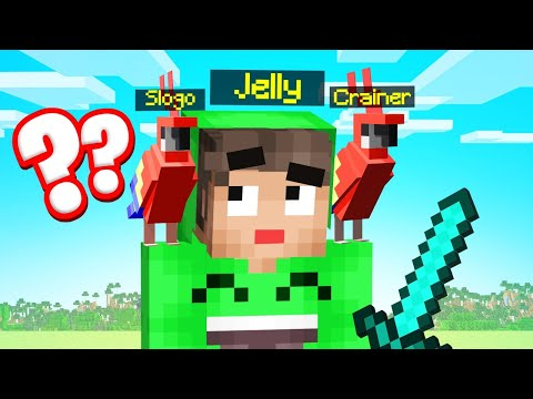 Playing MINECRAFT GUESS WHO As PARROTS…