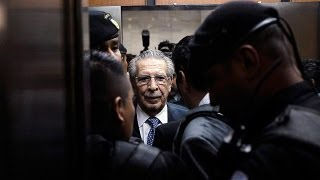 السجن لمدة ثمانين عاماً لديكتاتور غواتيمالا السابق...