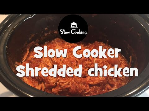 Delicious Cooker Slow Cooker Shredded Chicken Recipe