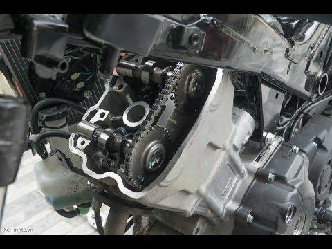 Xe.tinhte.vn - Khám phá bên trong động cơ Honda Winner 150: trục cam không có bạc đạn