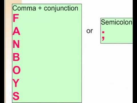 When do you use a comma in a compound sentence