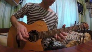 river flows in you на гитаре + табы