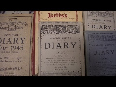 The Private Diary and The Public History - Professor Joe Moran