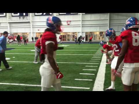 Wide receivers drills