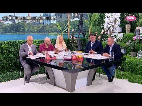 Novo Jutro - Dea I Sarapa - Zarko Rakic, prof. dr Zoran Dragisic, Goran Vesic - 05.09.2018.