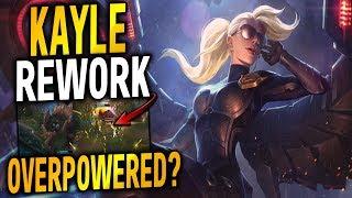 NEW KAYLE & MORGANA REWORK ALL ABILITIES REVEALED! KAYLE REWORK LOOKS INSANE! - League of Legends