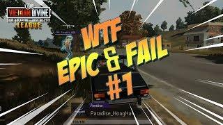 PUBG WTF Moments - Epic & Fails Moment #1