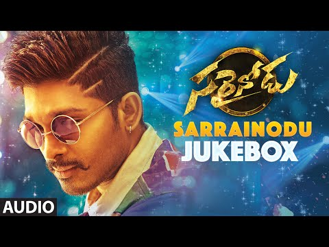 "SARRAINODU JUKEBOX || ""SARRAINODU"" Full Songs 