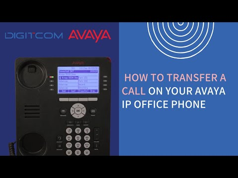 How to Transfer Calls from Avaya Phones   Avaya Phone Call