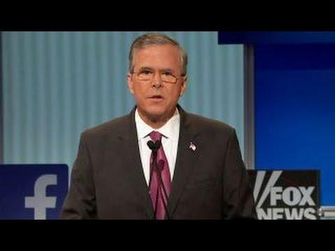 Jeb Bush rejects Donald Trump