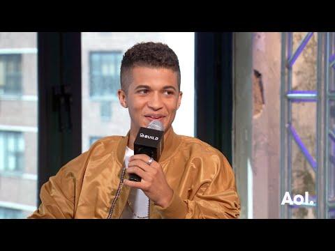 Jordan Fisher Talks About Ariana Grande | BUILD Series