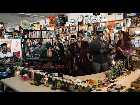 Cimafunk: NPR Music Tiny Desk Concert