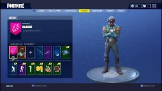 Fortnite: Blockbuster - The Visitor (Boba Fett Skin?!) + back bling! (Fish Tank, Love Wings + More)