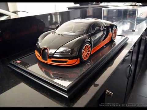 model car bugatti veyron super sport 1:8amalgam fine