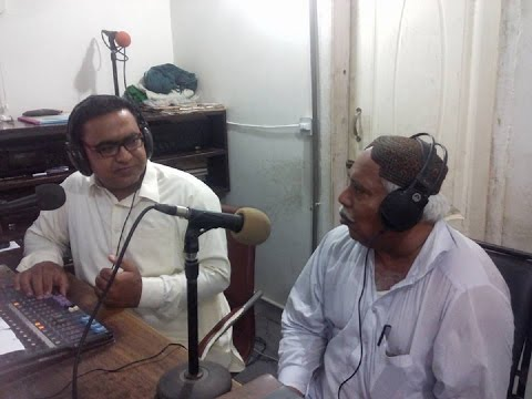 Mohammad Ali Pathan, Poet, Story Writer, Play Writer & Columnist Of Sindh @ Hot FM 105 Larkano.