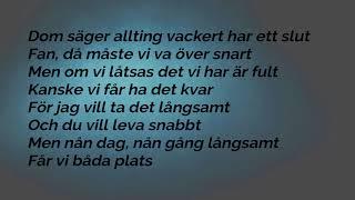 Molly Sandén - Större Lyrics