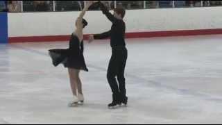 Elizabeth Addas & Jonathan Schultz - Chesapeake Open 2015 - Junior Free Dance