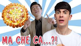 Reagisco a PUBBLICITÀ COREANE sull' ITALIA ! *che trash*