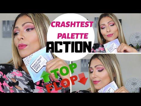 CRASHTEST PALETTE ACTION (Really truly gorgeous eyes) TOP OU FLOP ?! 🙄