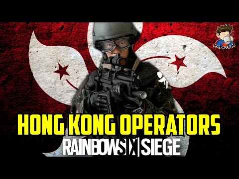 Rainbow Six Siege HONG KONG Operators SDU Weapons & Gadgets loadout Maps Season 6 New Gameplay guess