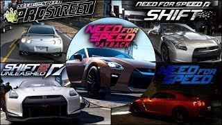 Nissan GTR Evolution in NFS Games - 1080pHD