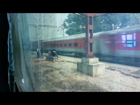 20502 | Agartala Rajdhani furiously overtakes TATA-KIR exp