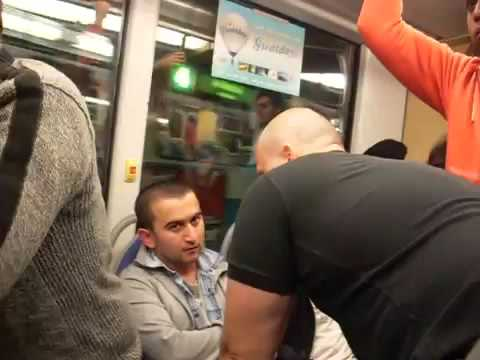 Immigrant beats up Swedish woman, gets stopped in tram