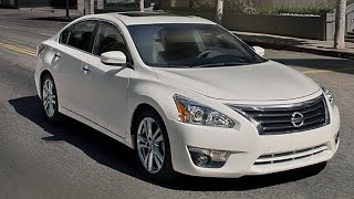 The All New 2015 Nissan Altima Interior And Exterior Review