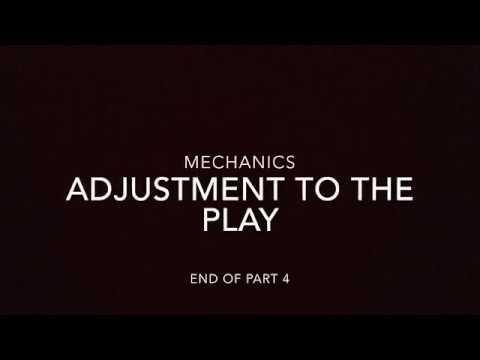 2018 ACJBC Referee Education Part 4   Mechanics   Adjustment To The Play