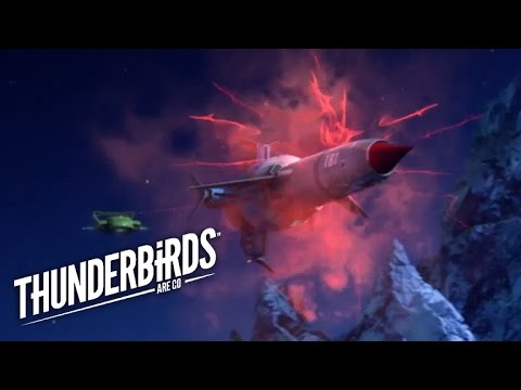 Scott And Virgil Attempt To Land At Aurora Station | Thunderbirds Are Go Preview Clip