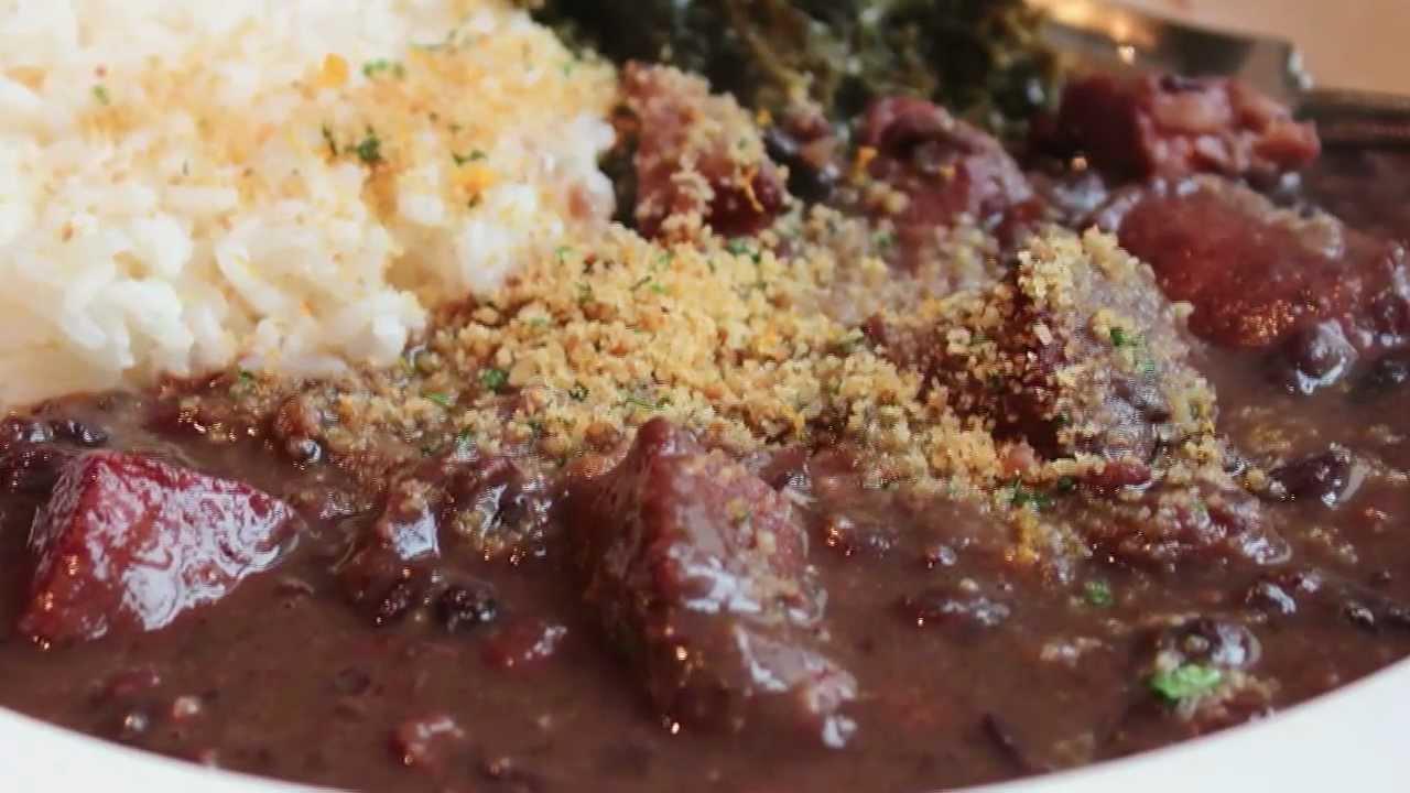 Brazilian feijoada black bean pork stew recipe youtube forumfinder Images