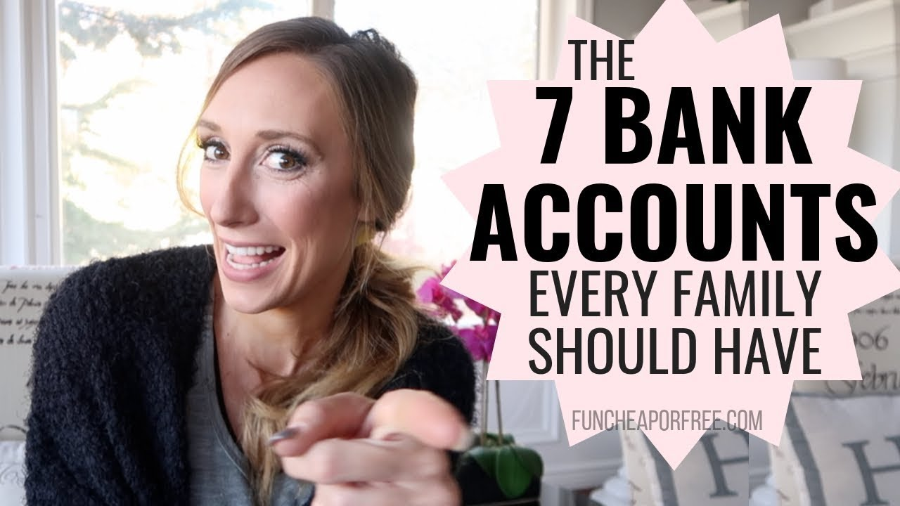 Amanda Page Real Name 7 bank accounts your family should have - fun cheap or free