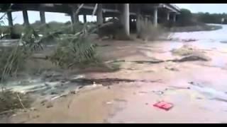 primera onada del Riu Cérvol (pont de l'autopista) - Vinaròs