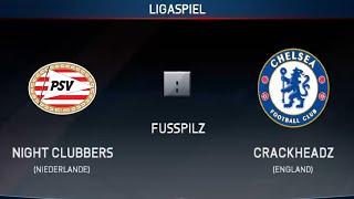 Fifa 16 Online Pro Club - Game 0025 - Night Clubbers vs CrackheadZ