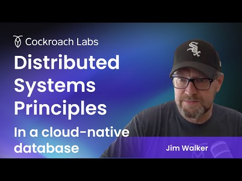 Distributed Principles in a Cloud-Native Database