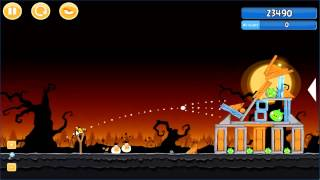 Angry Birds trick or treat 3 Estrellas parte 2-7