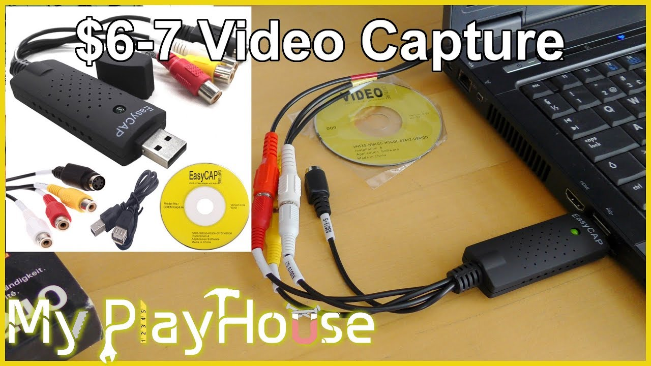 $7 - EasyCAP USB2 Video Captures my 29 Year old VHS Tape - 693