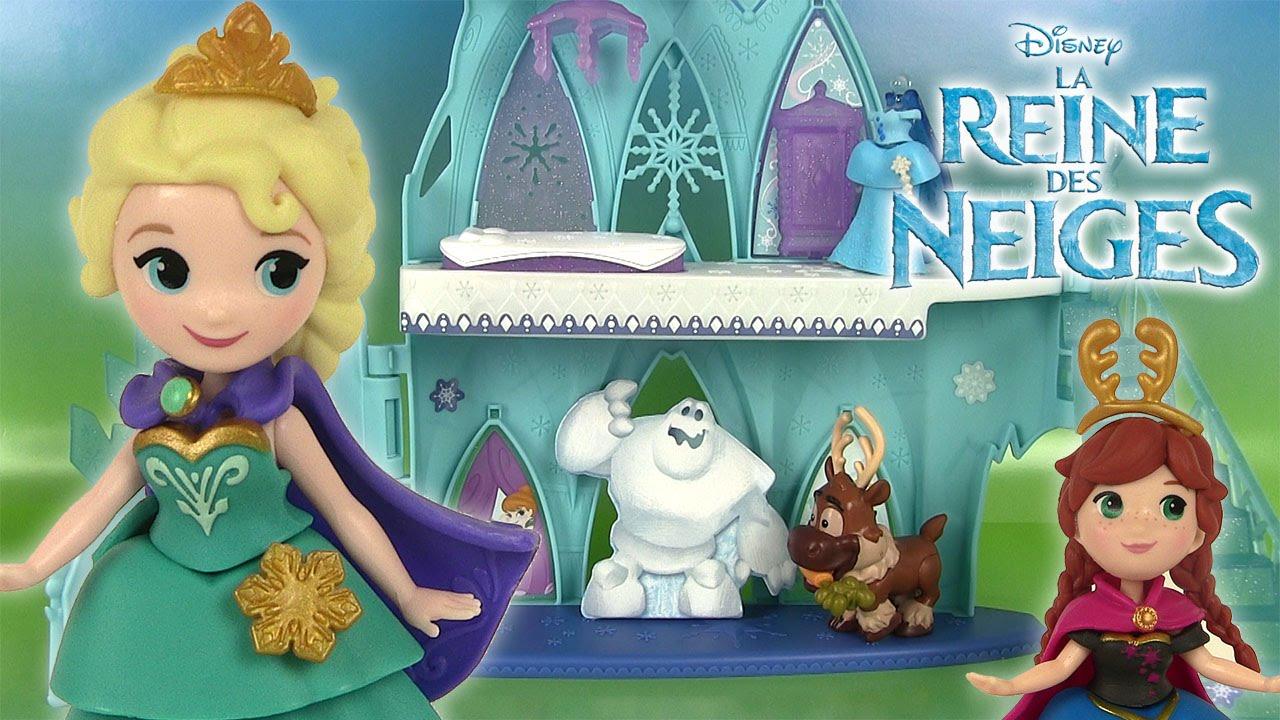 Ch teau elsa reine des neiges petit royaume little kingdom frozen elsa 39 s castle playset youtube - La ren des neige ...