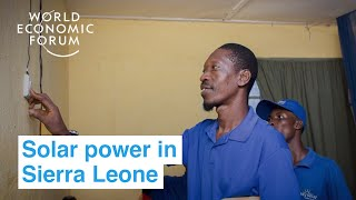 Bring the power of solar to Sierra Leone   Ways to Change the World
