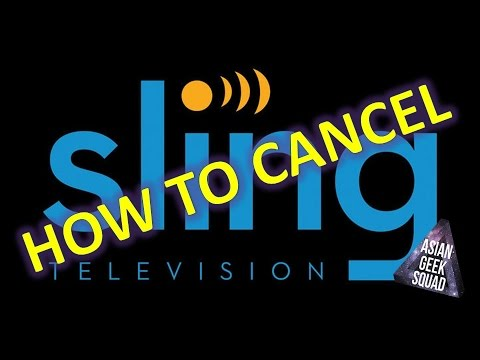 How to CANCEL your Sling TV monthly subscription!