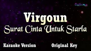Karaoke Virgoun - Surat Cinta Untuk Starla (Original Key)