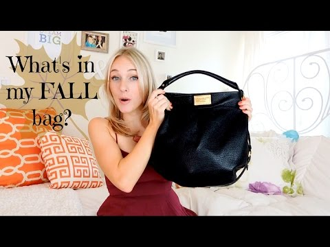 WHAT'S IN MY FALL BAG?