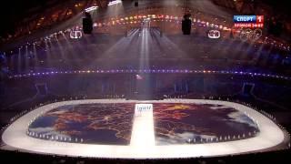 Церемония открытия Зимних Олимпийских Игр 2014 в Сочи HD часть 1