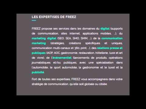 Agence de communication Paris - FREEZ