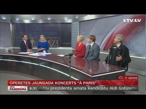 Operetes Jaungada koncerts ''À Paris''