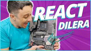 @Dilera REACT AS NOVAS PEÇAS DO PC GAMER !